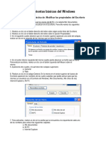 Trabajando Herramientas Basica en Windows