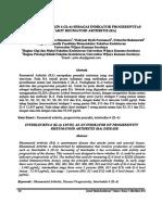 Kadar Interleukin 6 (Il-6) Sebagai Indikator Progresivitas Penyakit Reumatoid Arthritis (Ra)