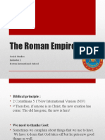 Step 5 Social Studies - The Roman Empire