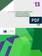 Raportul privind auditul finanțării Republicii Moldova
