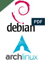 Instalación Debian y Arch Linux