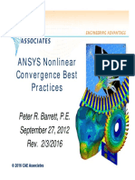 Ansys Non Linearities