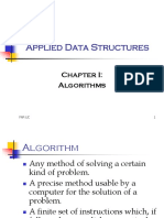 Applied Data Structures Chapter 1 Algorithm