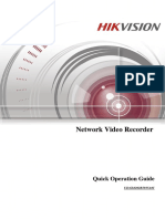 Quick Start Guide of Network Video Recorder Hik