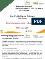Evaluacion Financiera Luz Enith 2014