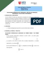 GUIA-N°08-MAT-II-EDO Variables separables