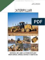 Manual Sistema Aire Acondicionado Maquinaria Pesada Caterpillar Operaciones Procedimiento Servicio Inspeccion Finning