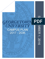 Georgetown University's Campus Plan 2017 - 2036