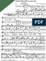 Niemand Liebt Dich So Wie Ich - Paganini de Lehar