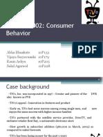 Tivo 2002 Consumer Behaviour