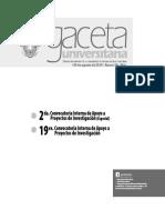CONVOCATORIAS (Anexo g-364)