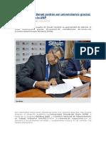 UPC y SENATI Firman Importante Convenio