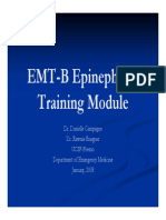 Epinephrine Training Module
