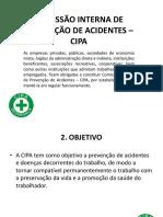 Aula 4 Comissão Interna de Prevenção de Acidentes
