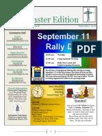 2016 September Eastminster Edition