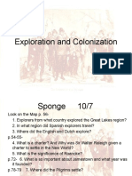 exploration and colonization 2012