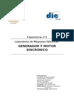 Informe Nº 4 Máquinas_Motor Síncrono (2