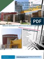 Ampliacion y Mejoramiento Del Centro de Salud Del Distrito de Ciudad Nueva Tacna 1 1