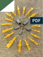 Mtn Bofors Teeth Weld-On Adapters B-lock Type