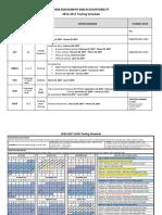 2016testingschedule
