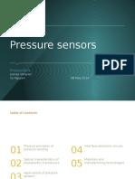 Pressure Sensor Presentation Slides