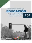 Bases para una Reforma a la Educación Superior (PC-IC)
