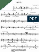 Ravel, Maurice - Menuet