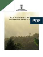 Plan de Desarrollo Cultural, 2007 - 2017. Corregimiento San Sebastián de Palmitas.