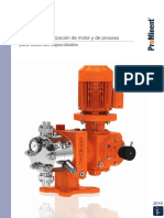 Bombas Dosificadoras Procesos Motora Catalogo de Productos ProMinent Folio 3