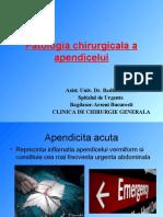 Patol Chirurg a Apendice