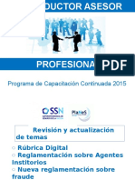 2015 El Productor Asesor Profesional