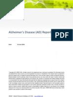 Alzheimer Disease Report - CBDMT June 2010