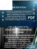 Etica Del Ingeniero de Sistemas
