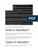About Alienation