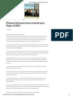 31/08/16 Planean infraestructura estatal para llegar al 2021 -Critica