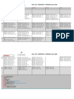 CARIMAC 2016-2017 Semester 1 Timetable