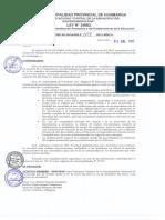 Designacion de Fedatarios