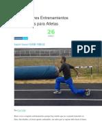 Los 6 Mejores Entrenamientos Pliométricos para Atletas