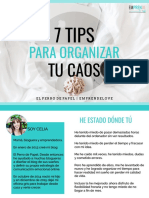 Manual 7 Tips Para Organizar Tu Caos