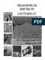 Kuliah-03&04 Pemilihan Material Dan Desain Tebal Pipa_BlackWhite