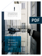 Doing Business in Italy