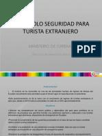 Protocolo de Emergencias Al Turista Extranjero