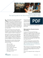 Http Findnursingschools.com Wp Content Uploads TEAS Prep Guide Find Nursing Schools