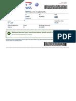 Boarding Pass IB8722 MAD OPO 022