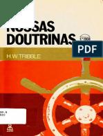 Nossas Doutrinas - H. W. Tribble (Igreja Batista)