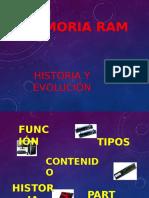 Diapositiva Memoria Ram
