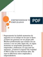 Emprendedor vs Empleados
