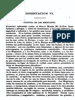 Disertacion VI - Clavijero