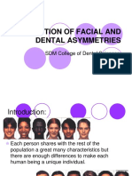 Correction of Facial and Dental Asymmetries