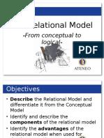 Relational-db ADMU (Good!)